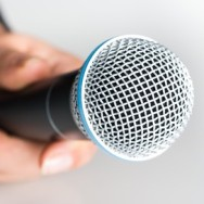 Microphone, Interview, Human Hand.
